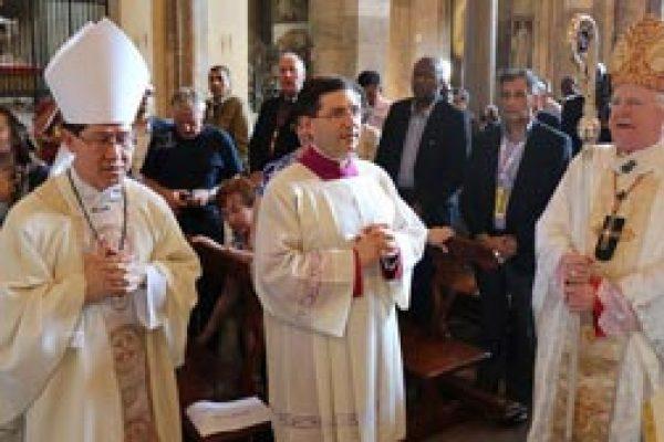 Cardinal Tagle celebrates his first Mass with Caritas