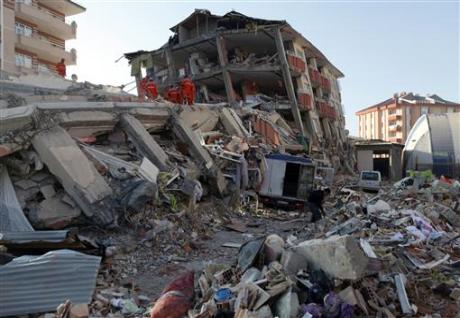 Caritas team heads to Turkey quake site