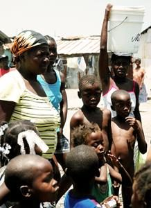 Prevent diseases through clean water, hygiene and sanitation in Haiti