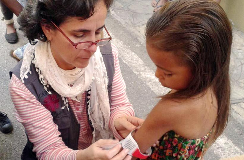 One in ten children surveyed by Caritas in Venezuela are suffering from malnutrition.