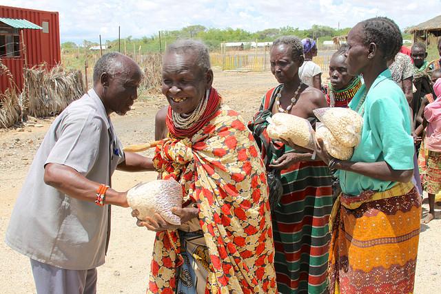 Kenya feeding