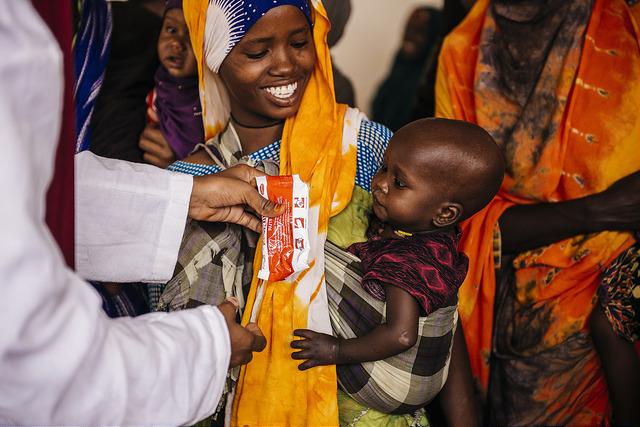 Somalia feeding
