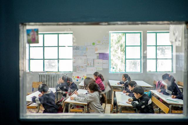 École publique à Broummana, au Liban.