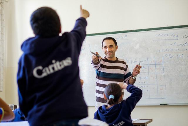 L'école de Fuhais, à Balqa, en Jordanie