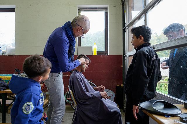 Ahmed Jabar, réfugié irakien de 19 ans