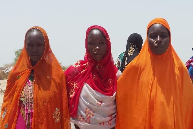 Women having fled Boko Haram receive support from Caritas. Photo by Alessandra Arcidiacono/Caritas