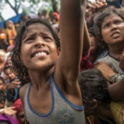 Rohingya refugee children in Bangladesh in urgent need