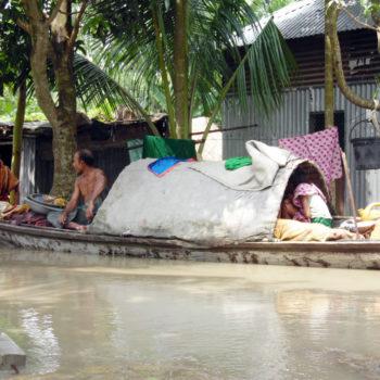 Reaching South Asia's flood survivors
