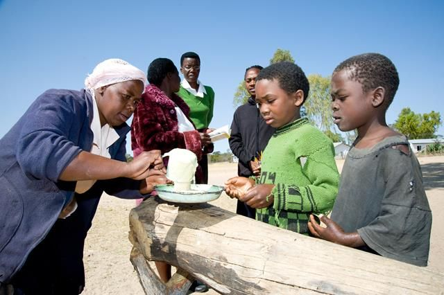 Zimbabwean children