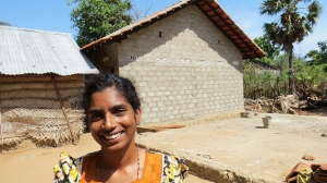 Caritas Sri Lanka is providing widowsand vulnerable people with houses, livelihood support after the end of the civil war in 2009. Credit: Patrick Nicholson/Caritas