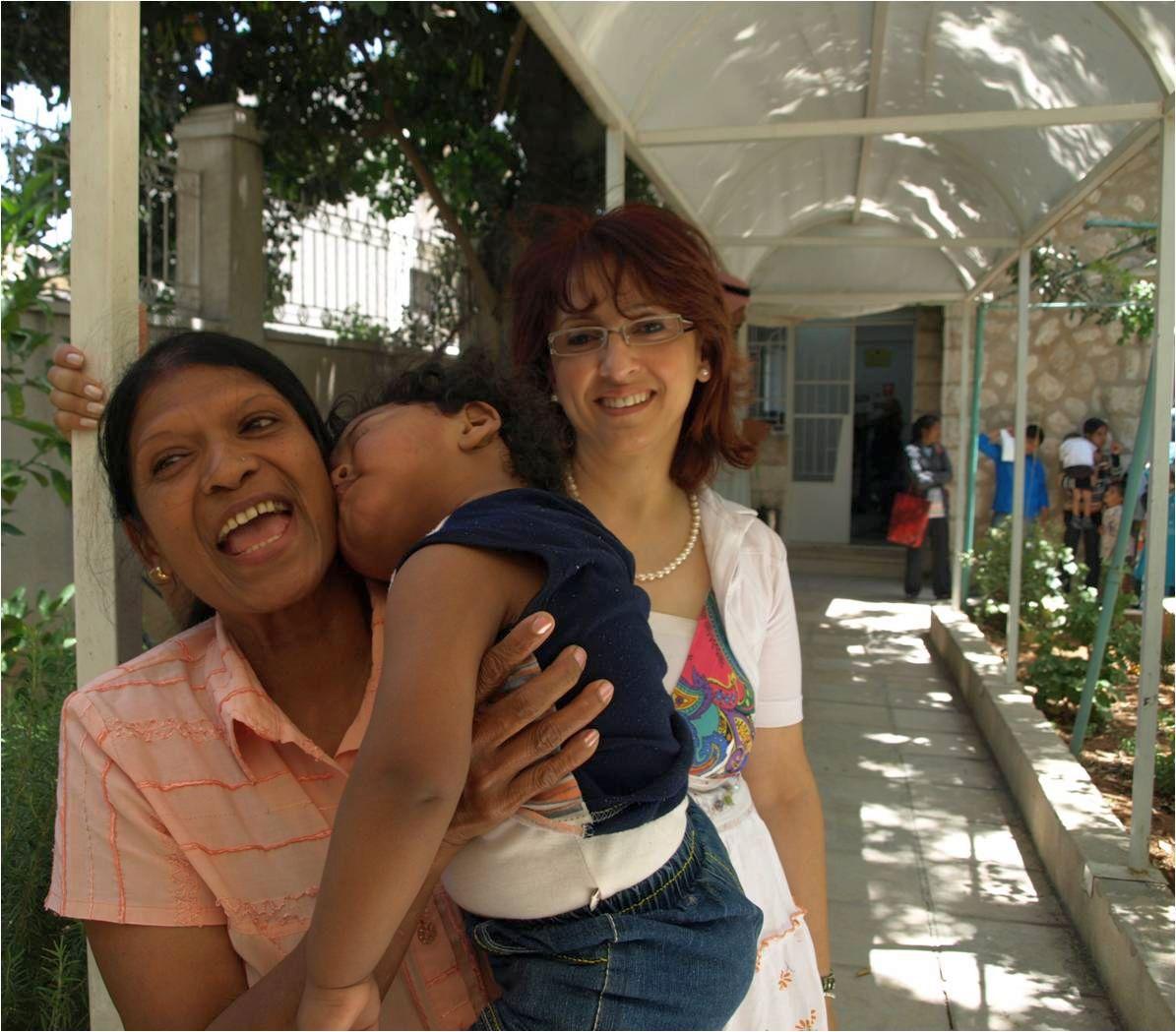 Caritas Jordan medical centre in Amman provides healthcare to migrants. Credit: Michelle Hough/Caritas