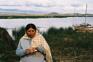 The change in climate conditions has led to frequent frosts, floods and water shortages in Bolivia Credits: Alexander Bühler/ Caritas Germany