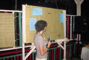 Discussing multi-hazards during CAFOD regional exchange in Illigan-City,-Lanao-del-Norte, Philippines Credits: CAFOD