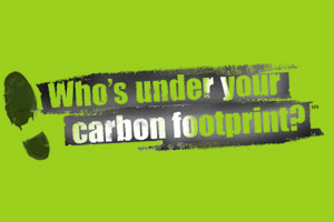 A year ago, a coalition of Catholic charities in the USA launched 'Who's Under Your Carbon Footprint?', a campaign inviting people to take the St. Francis Pledge to care for creation and the poor. Credits: Caritas