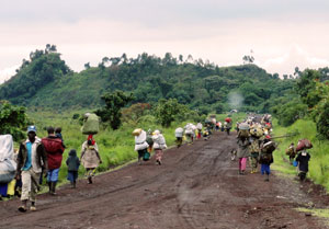 An estimated 2.2 million people are said to be displaced within Congo Credits: Caritas Congo