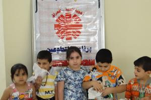 Disseminating the culture of giving, promoting volunteerism and work for free, is considered as one of the most important objectives of the current Caritas Iraq's programme of volunteers. Credits: Caritas Iraq
