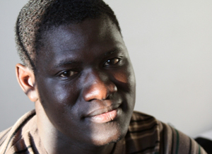Moussa fled political violence in his West African homeland, making a dangerous journey through the desert and across the Mediterranean to reach Italy. Credits: Caritas
