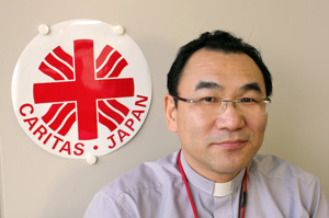 Bishop Isao Kikuchi, president of Caritas Japan Credits: Caritas
