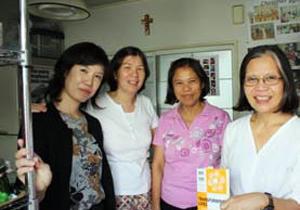 Staff of Kalakasan Centre Credits: Sheahen/Caritas