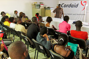 CORDAID mental health capacity building session. Credits: Worms/Caritas