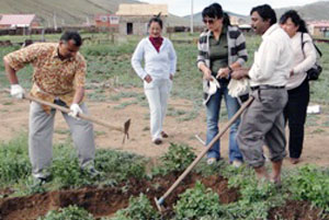 With support from Caritas Asia, Caritas Mongolia started the journey of popularizing organic agriculture. Credits: Caritas Mongolia