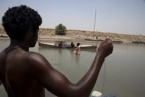 Water can be your best friend or worst foe - as last year's devastating floods in Pakistan showed. Credits: Trocaire