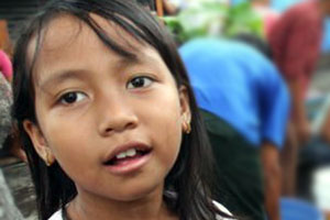 Caritas around the world runs anti-trafficking campaigns focusing on helping women and girls. Credits: Caritas Philippines