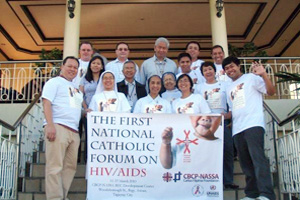 The Philippines' first Catholic HIV/AIDS network was launched in Tagaytay. Credits: Caritas