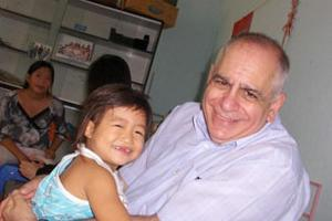 Caritas AIDS Specialist Fr Bob Vitillo in Vietnam Credits: Caritas