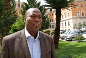 Fr. Isidore Ouédraogo, the Secretary General of Caritas Burkina Faso (OCADES) Credits: Caritas