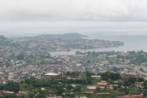 Freetown, the capital of Sierra Leone. While cholera victims can get treatment in the city, church workers say that people in remote areas are not getting help in time. Credits: Caritas