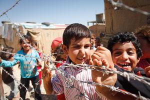 Syrian refugees in Lebanon Credits: Sam Tarling/Caritas Switzerland