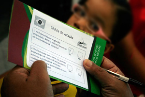 """""""More than one million signatures are needed to oblige the government to hold a plebiscite on the issue."""" Credits: Caritas"""