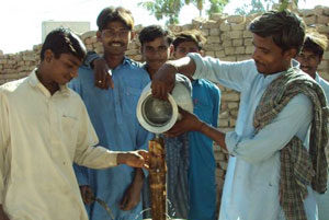 The availability of fresh water in Pakistan was already a serious concern and the worry is that future accessibility will decline dramatically in the coming years. Credits: Caritas Pakistan