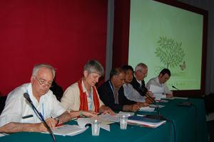 Faith communities came together to address climate change, poverty and sustainable development in a joint Caritas Internationalis, ACT Alliance and World Council of Churches side event to the Cancun climate summit on 7 December. Credits: Alberto Arciniega/Caritas