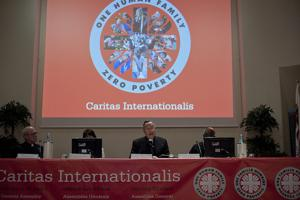 Opening of General Assembly of Caritas Internationalis - May 2011 - Rome, Cardinal Oscar Andres Rodriguez Maradiaga: President of Caritas Internaional. Credits: Elodie Perriot / Caritas