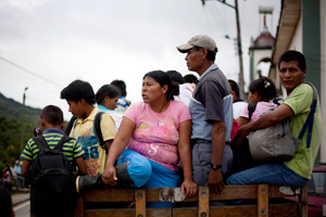 Conflict and human rights abuses have led to 3.4 million people officially registered as internally displaced (IDPs) in Colombia. Credits: Caritas 2010
