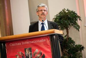 Michel Roy, the new Caritas Internationalis secretary general Credits: Elodie Perriot/Caritas