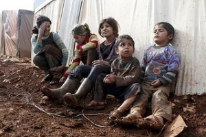 Half of Syrian refugee children in Lebanon don't go to school. Photo by Sam Tarling/Caritas.