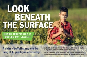 Anti-trafficking campaign by United States Catholic Bishops Conference (USCCB).