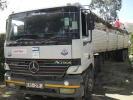 Caritas aid getting through to Torit in South Sudan. Credit: Caritas Switzerland.