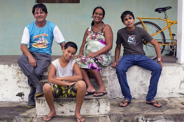 Brazilian family