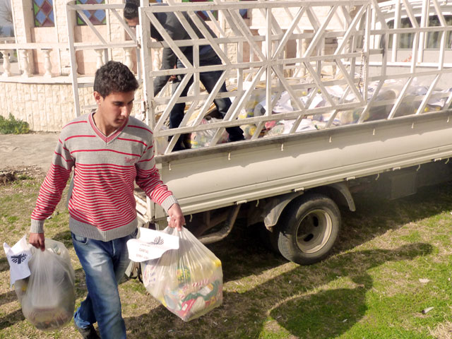 The needs of the people are greater than to the resources. Credit: Caritas Syria
