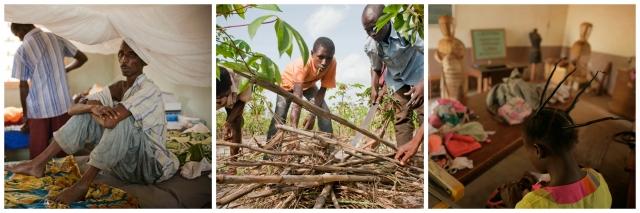 L'appel de Caritas vise à donner aux Centrafricains les instruments dont ils ont besoin pour reconstruire leur vie. Photos de Matthieu Alexandre pour Caritas Internationalis