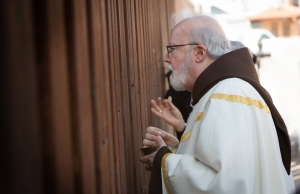 Cardinal Sean O'Malley at the Border Mass. Credit. USCCB