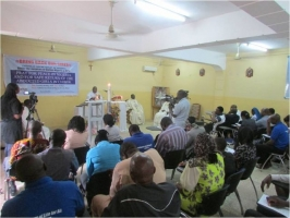 Caritas Nigeria holds day of prayer for girls abducted from school. Credit: Caritas Nigeria