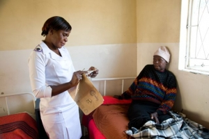 Faith based organisations have a key role to play in tackling AIDS. Credit DAvid Snyder/Caritas
