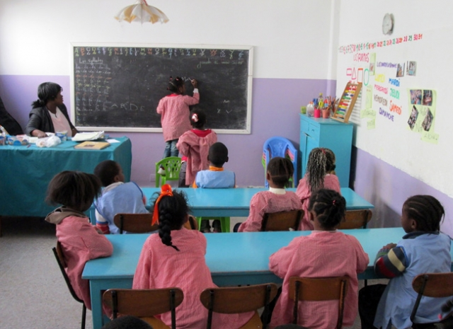 Caritas in Rabat provides children, including migrants, with pre-school education until they're 6. Credit: Caritas Morocco