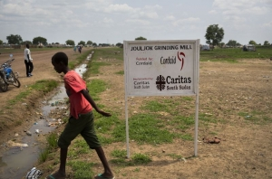 Cordaid works with Caritas South Sudan to provide food to people forced from their homes by violence. ANP / Arie Kievit