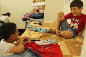 Entre los refugiados hay niños cristianos iraquíes que intentan encontrar seguridad en los centros de Cáritas en Jordania. Foto: Cáritas Jordania.